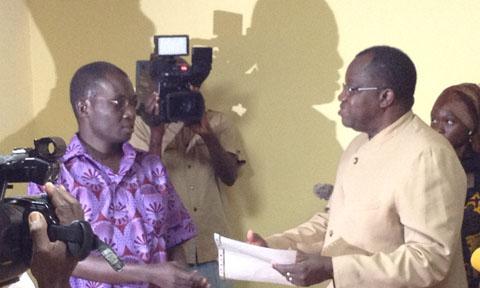 Prise en charge des  blessés de l'insurrection populaire: Le Groupe SODIGAZ APC donne 3 Millions de francs CFA