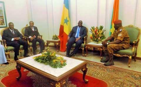 Investiture du président Michel kafando: Ballet diplomatique à Ouagadougou
