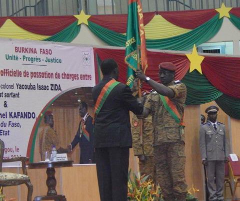 Président Michel Kafando: «Plus jamais d'injustice, plus jamais de gabegie, plus jamais de corruption»