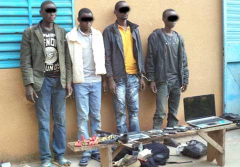 Région des Cascades: des délinquants dans les filets de la Gendarmerie à Mangodara et à Banfora