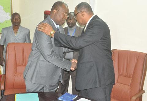 Secteur des mines et de l'énergie: Le ministre Boubacar Ba installé dans ses fonctions