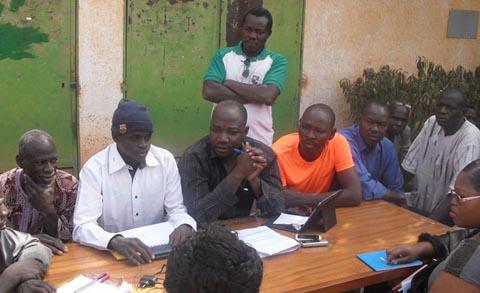 Faso Plast: le sit-in des travailleurs se poursuit