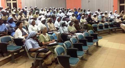 Eglise catholique: Lancement des activités de l'année de la vie consacrée au Burkina Faso