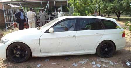 Une voiture volée en Europe interceptée au poste de police frontière de Yendéré