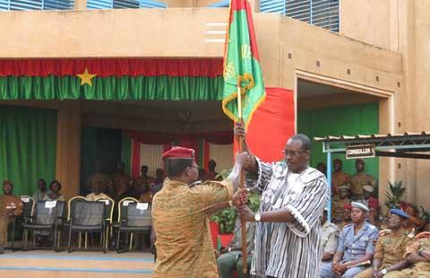 Etat-major général des armées: Le général de brigade Pingrenoma a pris le bâton de commandement