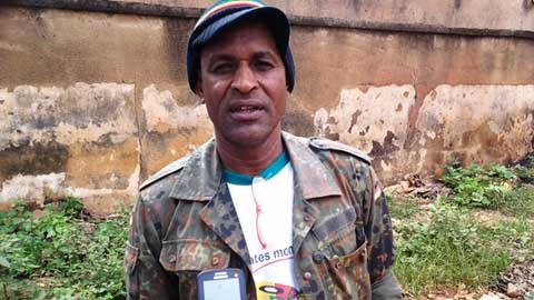 Dick Marcus, artiste reggaeman, membre du CNT: «Le pays avait été bâti sur du faux»