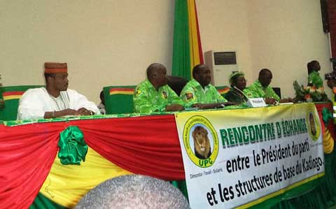 UPC: les militants du Kadiogo resserrent les rangs pour les défis à venir