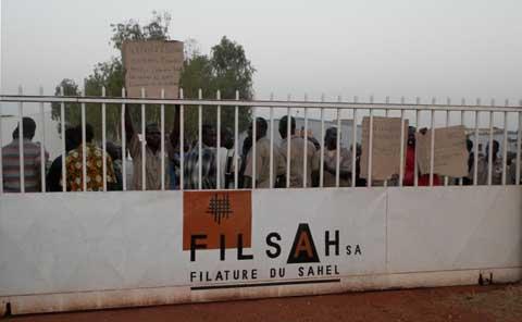 Filature du Sahel (Filsah): Travailleurs et patronat ont commencé à dialoguer