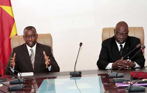 Présidence du Faso: le directeur de cabinet prend contact avec ses collaborateurs