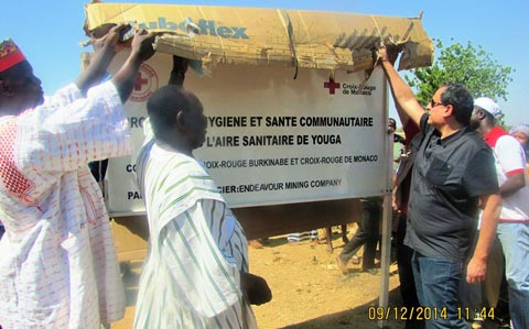 Développement rural: La Croix-Rouge lance le projet «Eau, hygiène et santé communautaire» dans l'aire sanitaire de Youga