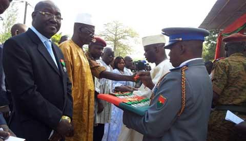 Festivité du 11 décembre: 168 personnes ont été décorées à Bobo-Dioulasso