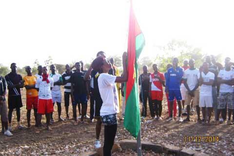 Indépendance du Burkina Faso: les étudiants de la cité Kossodo ont aussi fêté