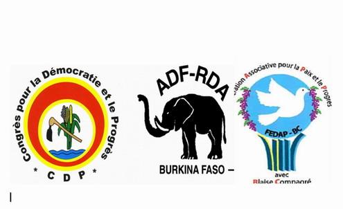 Le CDP, l'ADF-RDA, la FEDAP/BC suspendus de toute activité
