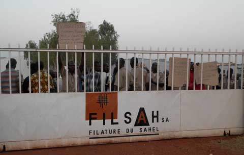 Filature du Sahel (FILSAH): Vers la fin de la crise?
