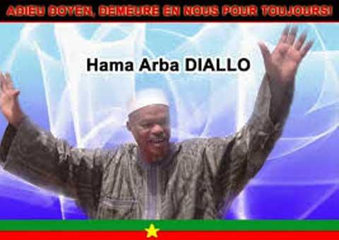 Journée d'hommage à Hama Arba Diallo: de fortes émotions!