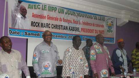 Présidentielle de 2015: Le MPP mobilise ses troupes à l'Est et au Centre-Est