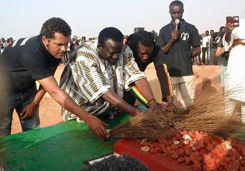 Anniversaire de Thomas Sankara: Le Balai citoyen rend hommage au «cibal en chef»