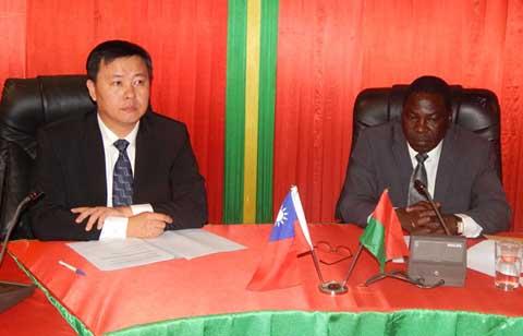 Coopération Burkina-Taïwan: 22 projets  exécutés à 90%