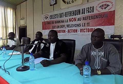 Transition politique au Burkina Faso: le CAR satisfait mais appelle à la vigilance