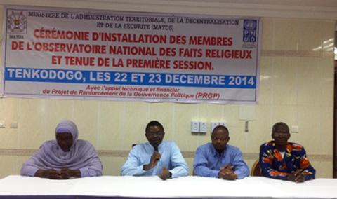 Préserver  la paix sociale  à tout prix: l'Etat burkinabé se dote d'un nouvel observatoire