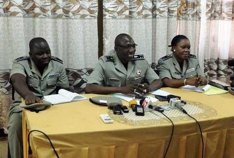 «La courbe de l'insécurité a beaucoup baissé après les évènements des 30 et 31 octobre», dixit le commissaire central de la ville de Ouagadougou