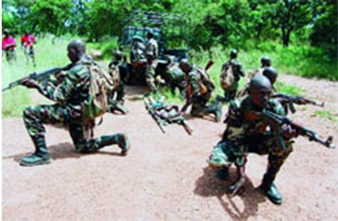 Présidence du Faso: Mouvement d'humeur au Régiment de sécurité présidentielle (RSP)