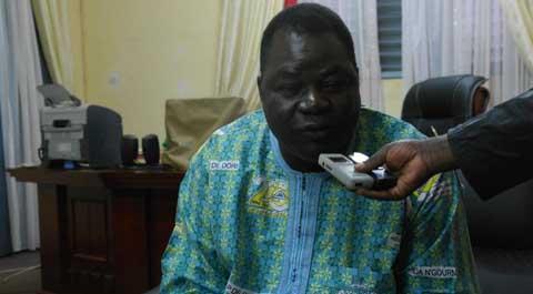 Vœu de Joseph Nébima Bakouan, gouverneur  sortant de la région des Hauts-Bassins pour 2015: «L'exclusion n'est pas  une valeur de la charte»