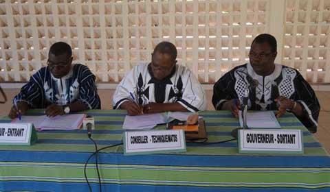 Hauts-Bassins: Alfred Gouba a été installé dans ses fonctions de gouverneur