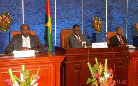 Transition politique: le Président du Faso échange avec la classe politique