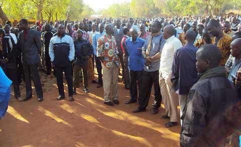 Coalition Contre la Vie Chère/Yatenga: Une grève en perspective au Yatenga si les revendications ne sont pas satisfaites
