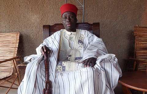 Vœux de sa majesté le chef de Canton de Dédougou pour 2015: «la cohésion, l'entente, la tolérance»