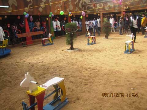 Don au CHU-Yalgado: La CNSS apporte de la «couleur» aux enfants