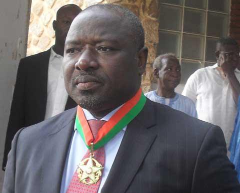 Distinction: Lassina Zerbo fait Commandeur de l'ordre national burkinabè