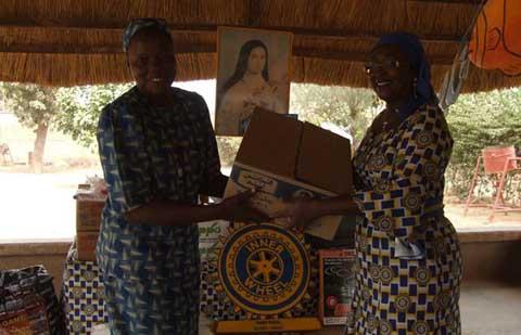 ''Inner Wheel day 2015'': Occasion de solidarité agissante à l'orphelinat de Loumbila