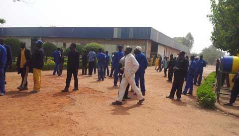 Bobo-Dioulasso: Les travailleurs de la SAP sont dans la contestation