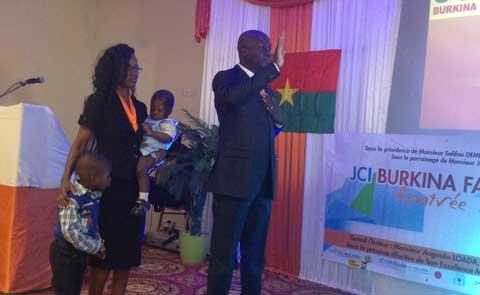 Jeune Chambre Internationale Burkina Faso(JCI): Rentrée solennelle du mandat 2015