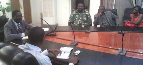 Transition politique au Burkina Faso: le Mouvement Soyons Sérieux reçu par le Directeur de Cabinet du Premier Ministre