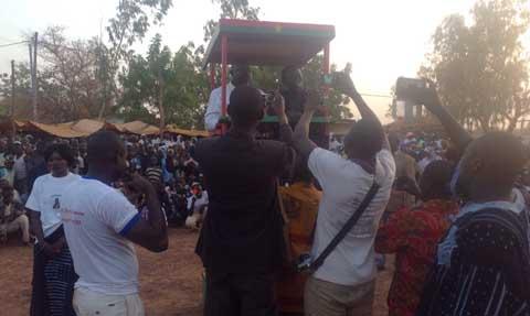 Le Front Progressiste Sankariste à Bokin: «Le peuple n'a pas besoin de simple changement»