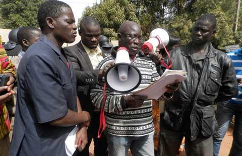 Le siège de l'UNPCB mis sous scellés: Les anti-Karim Traoré reviennent avec des «preuves» à l'appui
