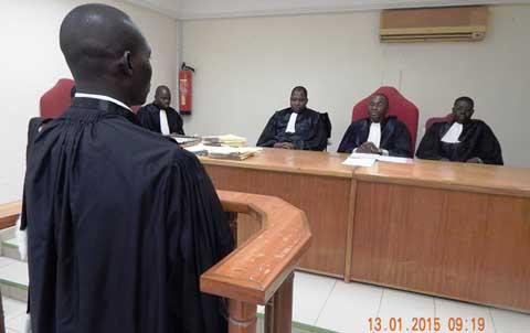 Tribunal administratif de Ouaga: Un nouveau juge de la puissance publique en fonction