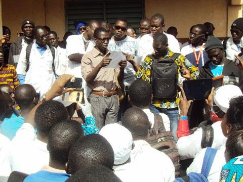 Ecole Nationale de Santé Publique de Ouahigouya: Les élèves exigent le départ d'un enseignant permanent