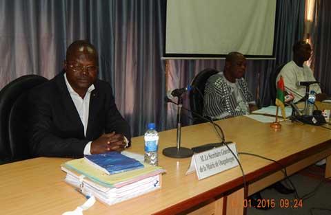 Membres de la Délégation spéciale de la commune de Ouagadougou: Aussitôt installés, ils siégeront sur les questions budgétaires