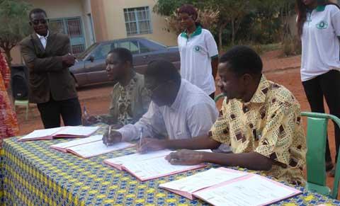 Université polytechnique de Bobo-Dioulasso: La charte sur les modalités d'administration des connaissances a été adoptée par les différents acteurs