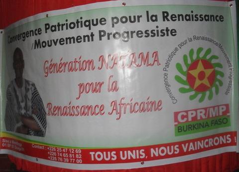 Présidentielle 2015: La CPR/MP appelle Jean-Baptiste Natama à se porter candidat