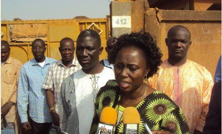 Soutien aux familles des victimes de l'insurrection: La ministre Nicole Angeline Zan a fait le déplacement à Ouahigouya