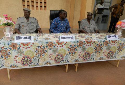 Police nationale des Hauts-Bassins: Sy Traoré a remplacé Marcel Paré