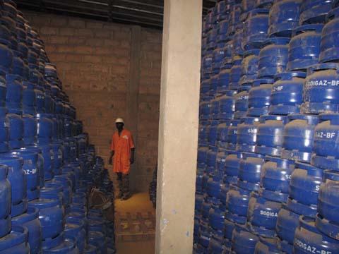 Pénurie de gaz au Burkina: «La solution, c'est d'accroître la capacité de remplissage des bouteilles»