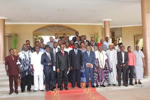 Le Président du Faso face aux patrons de presse: Bientôt la  dépénalisation du délit de presse