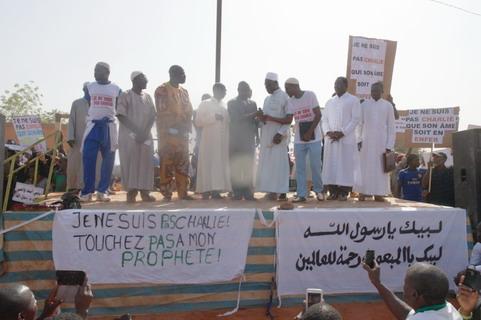 Caricatures du Prophète Mouhammad: Des musulmans ont manifesté à Bobo pour exiger le respect de leur  foi