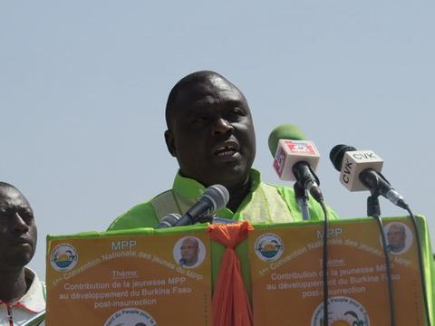 Burkina post-insurrection: Les jeunes du MPP demandent l'exclusion des  «pro modification de l'Article 37» des prochaines élections